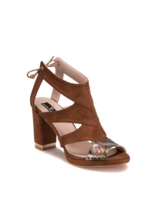 Miss F Ds17069 Taba Kadın 546 Sandalet