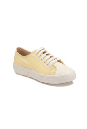Art Bella U2601 Sarı Kadın Sneaker Ayakkabı