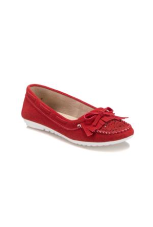 Art Bella U2752 Kırmızı Kadın Loafer Ayakkabı