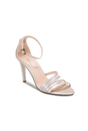 Miss F Ds17087 Gümüş Kadın 545 Ayakkabı