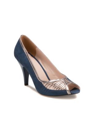 Butigo S893 Lacivert Kadın 545 Ayakkabı