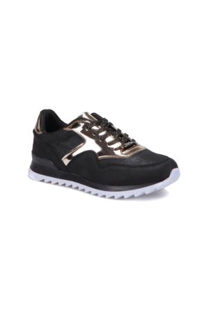Butigo S977 Altin Kadın Sneaker Ayakkabı