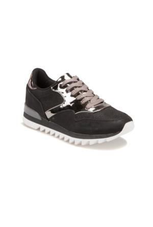 Butigo S977 Siyah Kadın Sneaker Ayakkabı