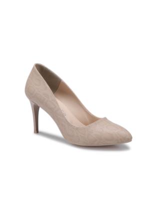 Butigo S806-Y Bej Kadın Gova Ayakkabı