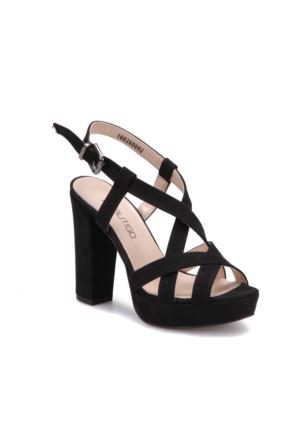 Butigo S857 Siyah Kadın 546 Sandalet