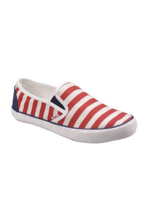 U.S. Polo Assn. A3351450 Kırmızı Kadın Sneaker Ayakkabı
