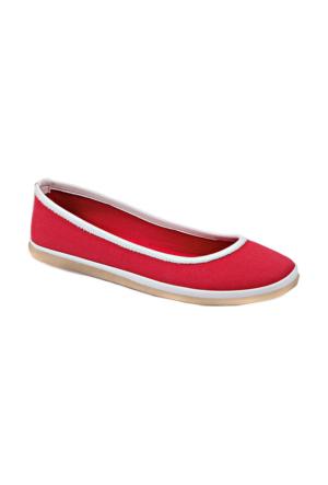 U.S. Polo Assn. Kırmızı Kadın Babet