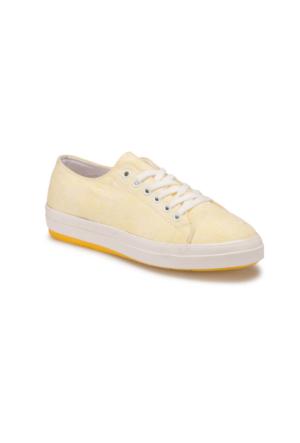 Art Bella U2604 Sarı Kadın Sneaker Ayakkabı