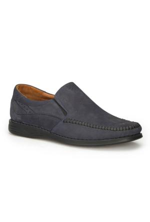 Polaris 5 Nokta 71.105517Nm Lacivert Erkek Deri Klasik Ayakkabı