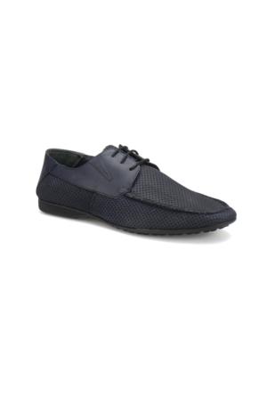 Garamond 2361 M 1366 Lacivert Erkek Deri Klasik Ayakkabı
