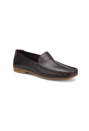 Flogart 4671-2 M 1493 Kahverengi Erkek Deri Klasik Ayakkabı