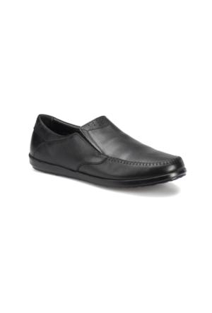 Flogart Sg-68 M 1494 Siyah Erkek Deri Klasik Ayakkabı