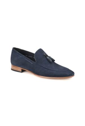 Cordovan 7487 Lacivert Erkek Deri Modern Ayakkabı