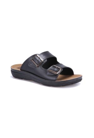 Flexall Bess M 1602 Siyah Erkek Klasik Ayakkabı