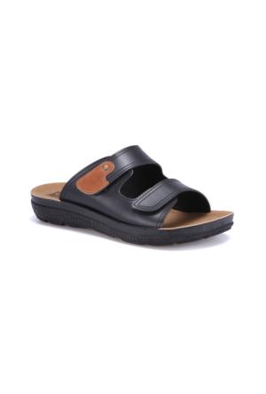 Flexall Bandy M 1602 Siyah Erkek Klasik Ayakkabı