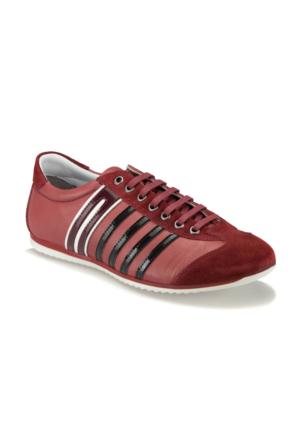 Mytrax Kırmızı Erkek Deri Ayakkabı