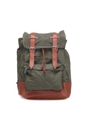 Oxide Knspt16S001 Haki Erkek Backpack Çanta