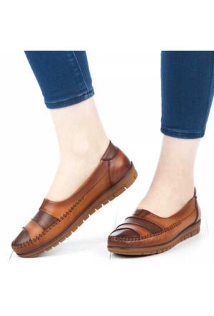 Belox Kadın Ortopedik Ayakkabı Kahverengi - Taba