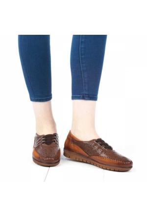 Belox Kadın Ortopedik Ayakkabı Taba - Kahverengi