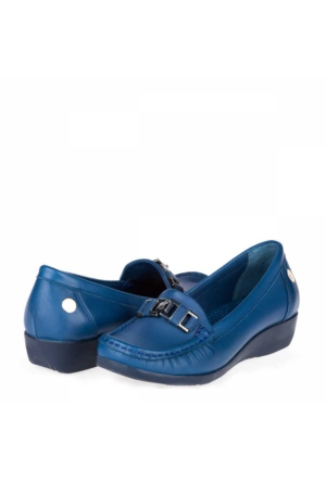Mammamia Kadın Dolgu Topuklu Ayakkabı Petrol