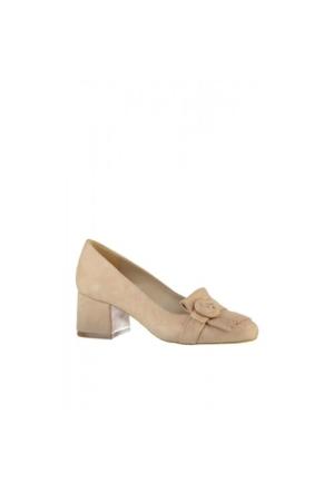 Elle Hermoso Bayan Ayakkabı Vizon