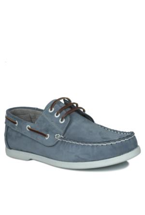 Kalahari 737001 041 403 Erkek Açık Mavi Ayakkabı