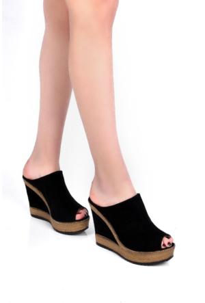 Sapin 25929 Kadın Sandalet Siyah