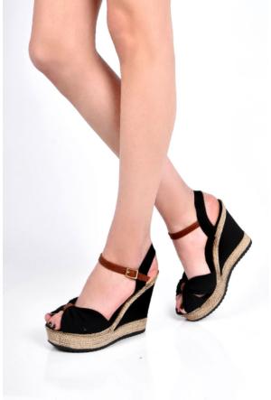 Sapin 25934 Kadın Sandalet Siyah