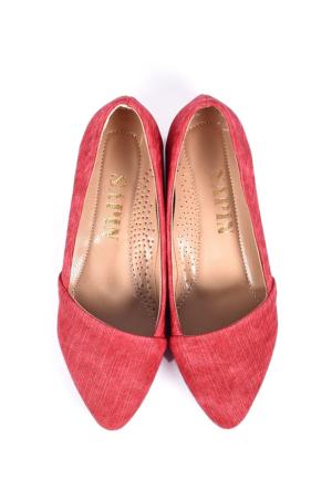 Sapin 25640 Kadın Babet Kırmızı