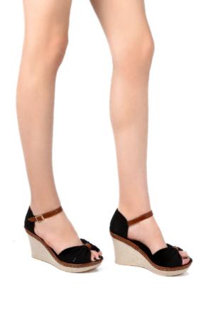Sapin 25937 Kadın Sandalet Siyah