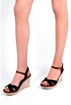 Sapin 25938 Kadın Sandalet Siyah