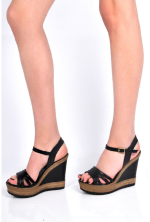 Sapin 25939 Kadın Sandalet Siyah