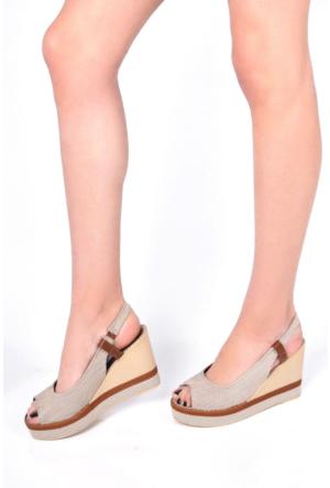 Sapin 35729 Kadın Sandalet Kum