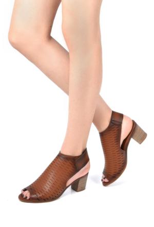 Sapin 25976 Kadın Sandalet Taba