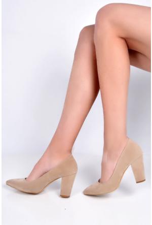 Sapin 25614 Kadın Topuklu Ayakkabı Kum