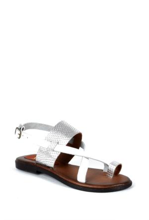 Sapin 25997 Kadın Sandalet Beyaz