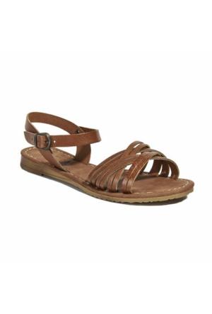 Desa Kadın Deri Sandalet Taba