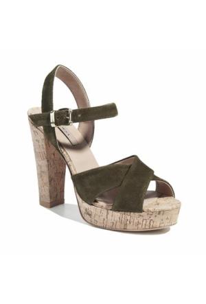 Desa Collection Talisa Kadın Sandalet Haki
