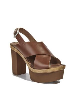 Desa Collection Pella Kadın Sandalet Taba