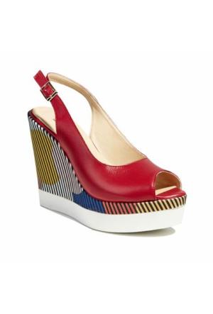 Desa Celeste Kadın Sandalet Kırmızı