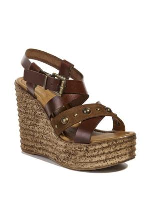Desa Collection Carine Kadın Sandalet Taba