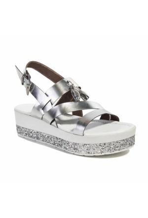 Desa Collection Rosaline Kadın Sandalet Gümüş
