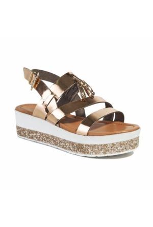 Desa Rosaline Kadın Sandalet Altın