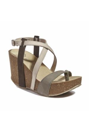 Desa Bome Kadın Sandalet Haki