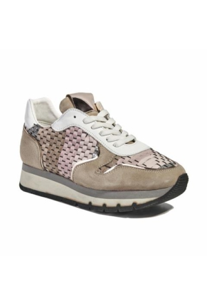 Desa Collection Hale Kadın Spor Ayakkabı Pembe - Bej