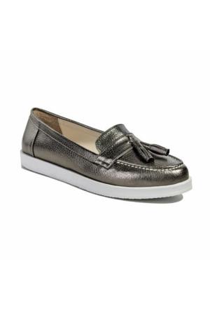 Desa Kadın Günlük Ayakkabı Gümüş