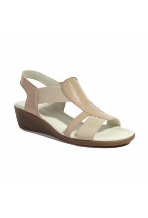 Desa Hasky Kadın Sandalet Bej
