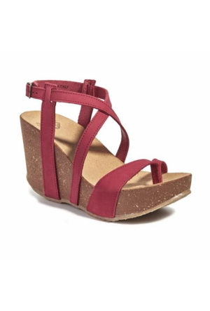 Desa Bome Kadın Sandalet Kırmızı