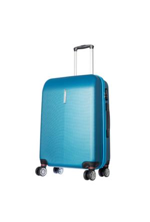 Ççs Polycarbonate Orta Boy Ççs5136 Valiz - M Mavi