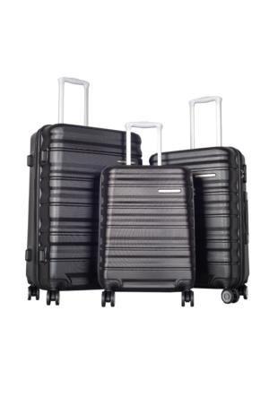 Ççs Polycarbonate Set Ççs5138 Valiz - Set Siyah
